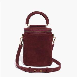 Madewell Holland Binocular Bag in Nubuck Leather